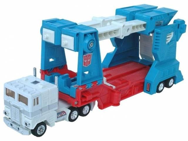 Transformers Ultra Magnus G1  Hasbro Reissue REPLICA REGALO GIFT KIDS TOY