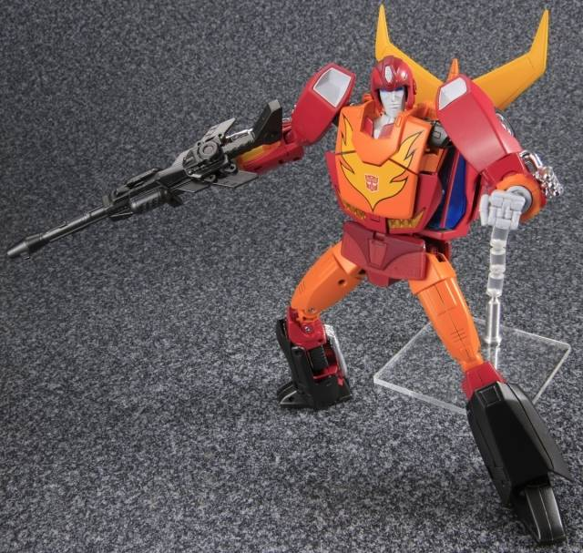 Warriors The New Prophecy Set The Complete Second Series: MP-09 Masterpiece Rodimus Prime