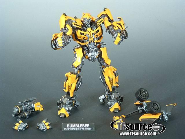 Sci Fi Transformer : Revoltech sci fi transformers dotm bumblebee