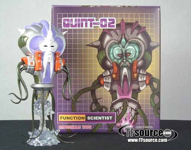 Quintesson Scientist MINT-IN-BOX IMPOSSIBLE TOYS Quint-02