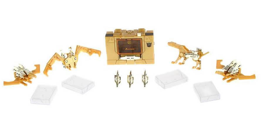 G1 Transformer Hasbro Linkin Park Gold Soundwave Unused Complete Mint