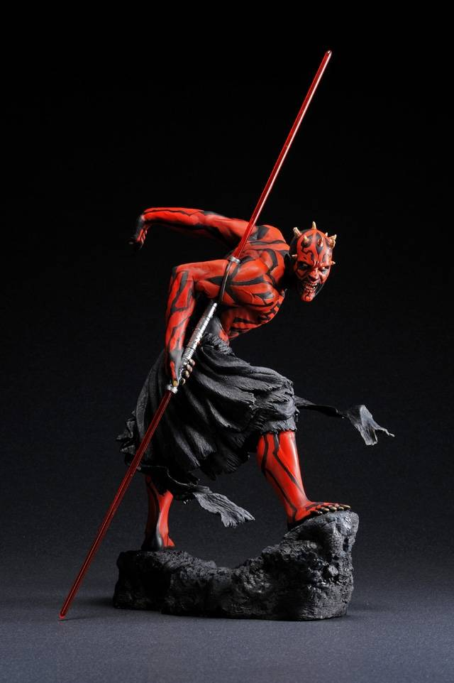 Kotobukiya Star Wars Artfx Darth Maul Light Up 1 7