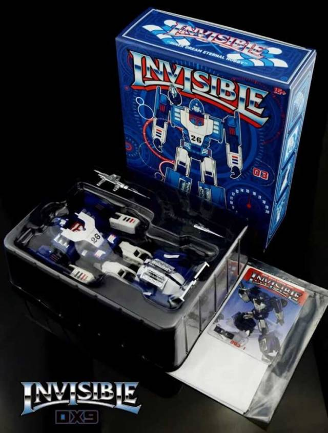 Transformers toy DX9 D03 Invisible G1 Mirage Action figure in stock MISB New
