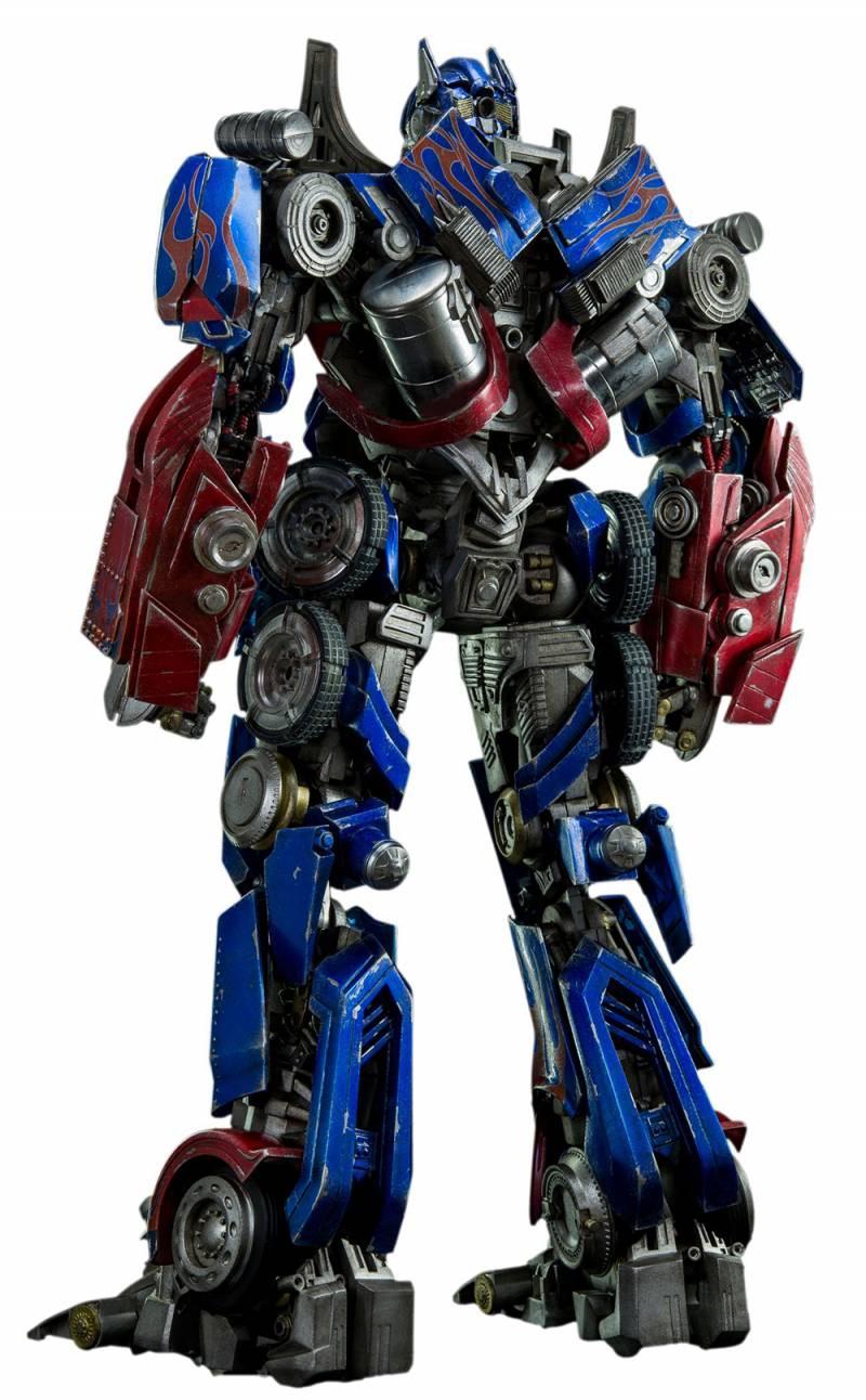 transformers optimus prime premium scale - 19'' collectible figure