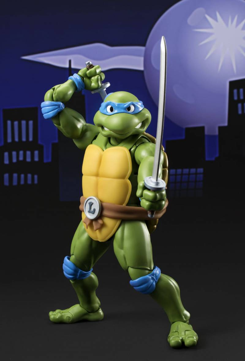 S H Figuarts Teenage Mutant Ninja Turtles Leonardo