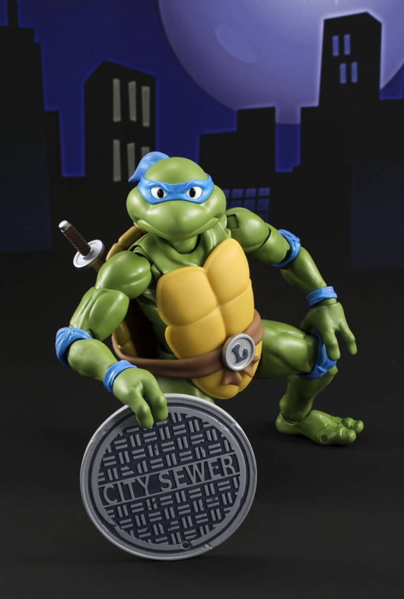 S H Figuarts Teenage Mutant Ninja Turtles Leonardo