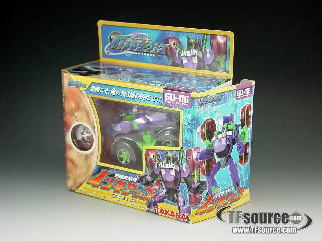 Galaxy Force - GD-06 Inch Up/Dirt Boss - MIB - 100% Complete