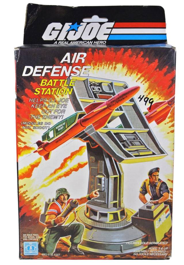 GI Joe - Air Defense Battle Station - MISB