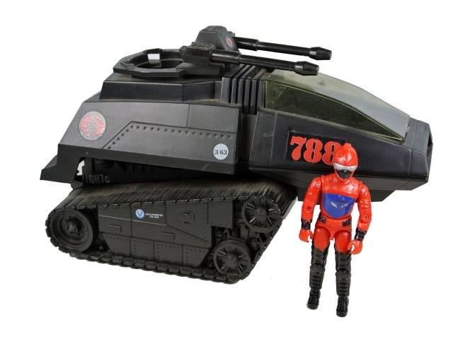 GI Joe - Cobra H.I.S.S. - High Speed Sentry - Loose - Missing paperwork