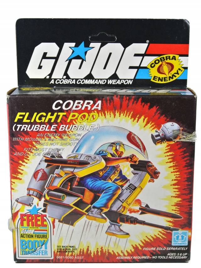 GI Joe - Cobra Flight Pod - MISB