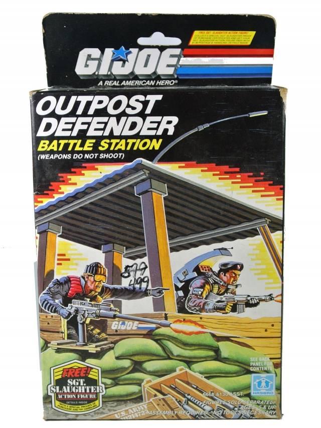 GI Joe - Outpost Defender Battle Station - MISB