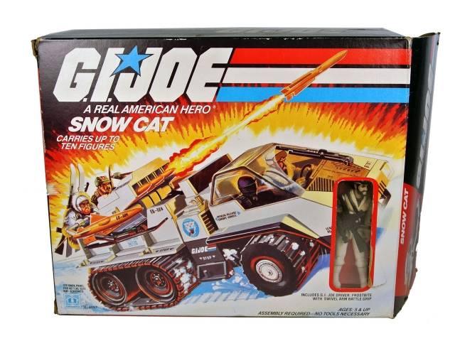 GI Joe - Snow Cat - MIB - 100% Complete