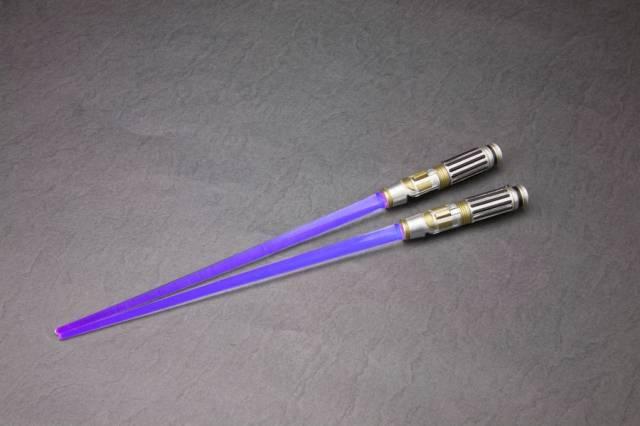 Star Wars - Mace Windu Light-up ver - LIGHTSABER CHOPSTICKS