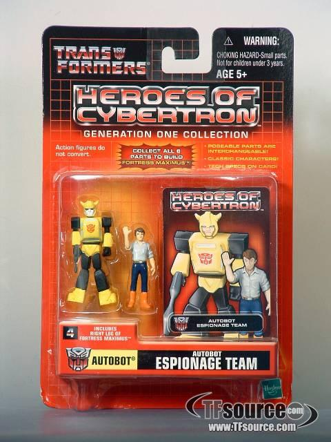 Heroes of Cybertron - Autobot Espionage Team