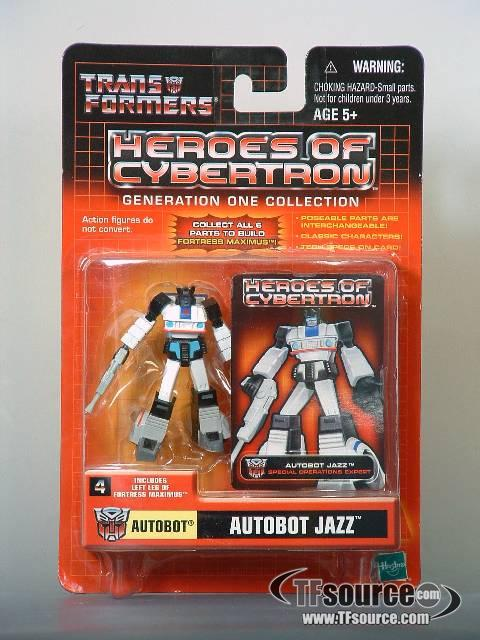 Heroes of Cybertron - Autobot Jazz