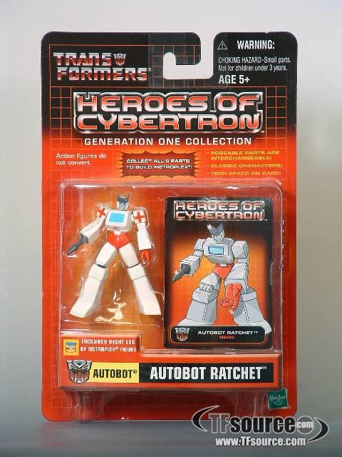 Heroes of Cybertron - Autobot Ratchet