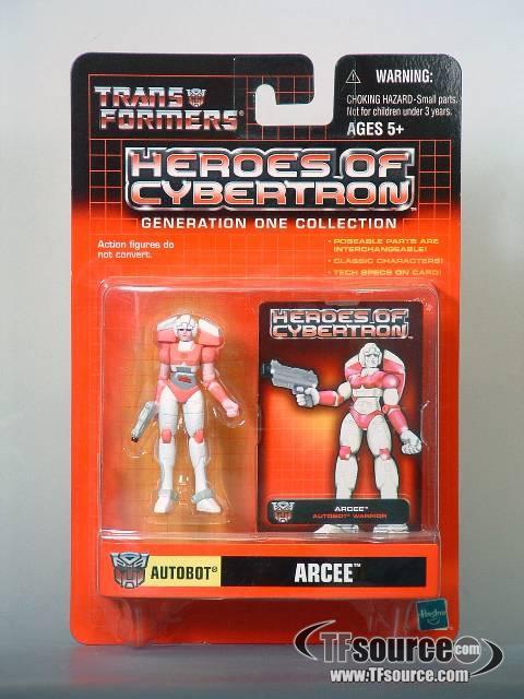 Heroes of Cybertron - Arcee