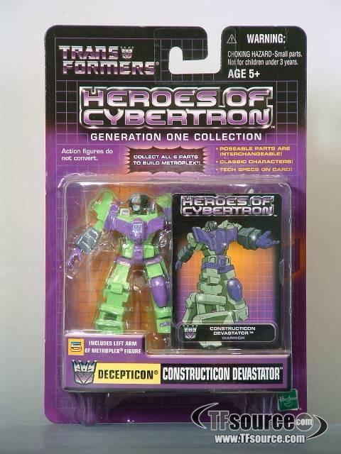 Heroes of Cybertron - Constructicon Devastator