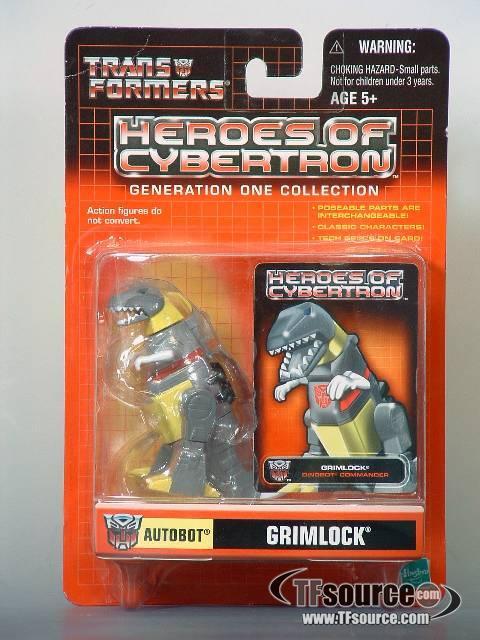 Heroes of Cybertron - Grimlock
