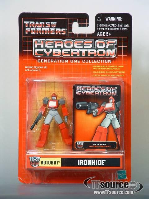 Heroes of Cybertron - Ironhide