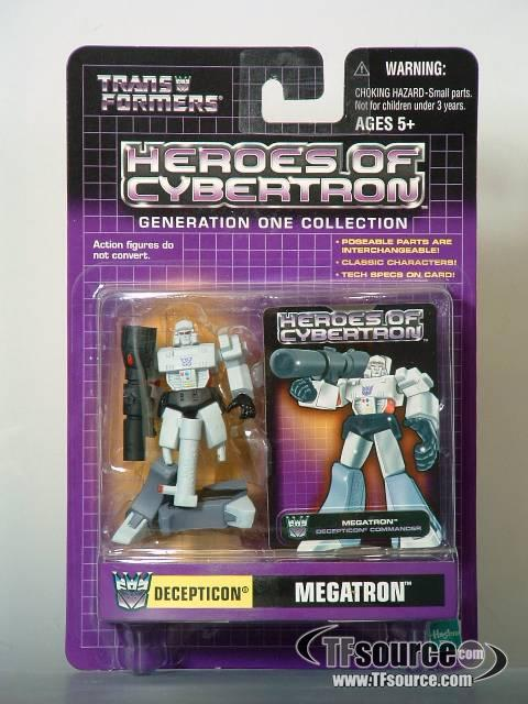 Heroes of Cybertron - Megatron