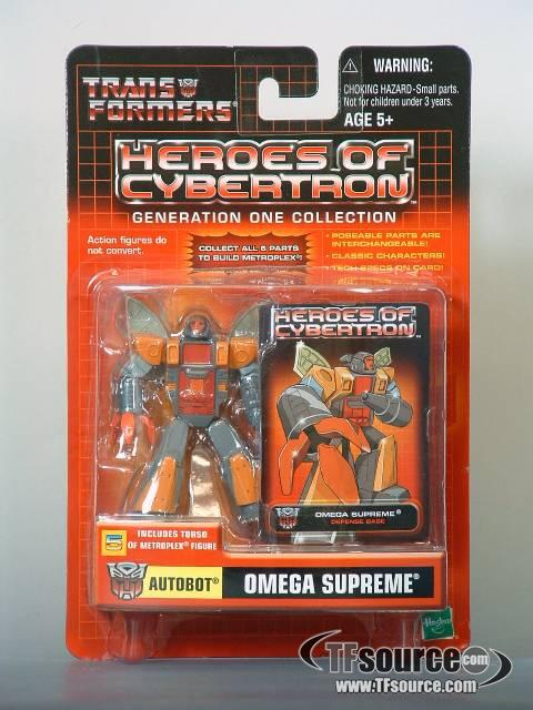 Heroes of Cybertron - Omega Supreme