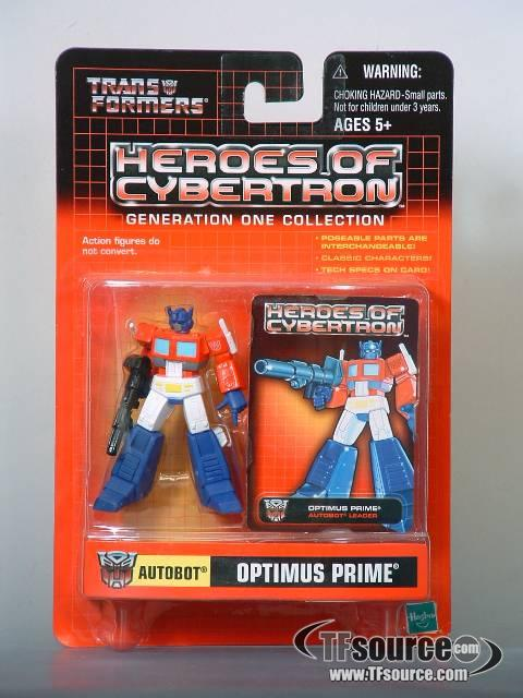 Heroes of Cybertron - Optimus Prime