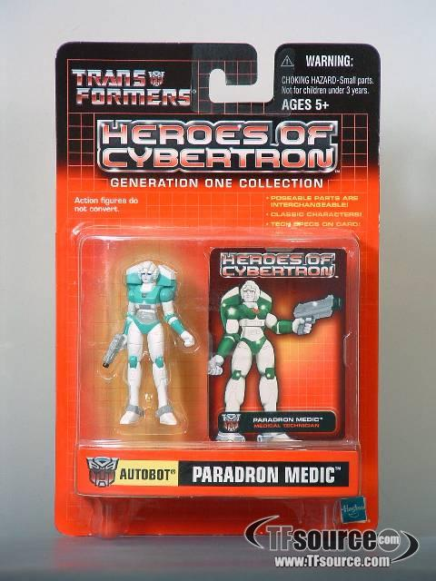 Heroes of Cybertron - Paradron Medic