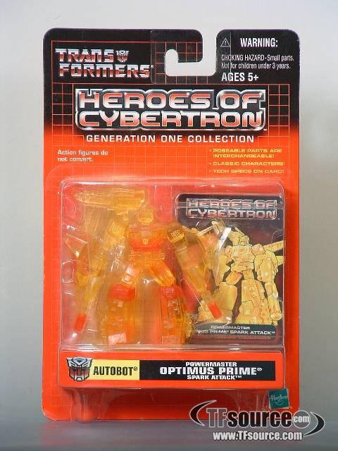 Heroes of Cybertron - Powermaster Optimus Prime Spark Attack