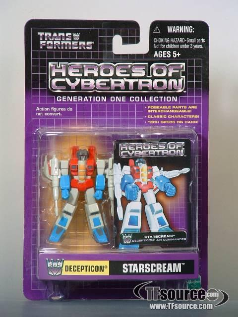 Heroes of Cybertron - Starscream