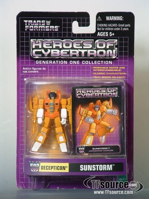 Heroes of Cybertron - Sunstorm (Starscream redeco) - OTFCC 2003