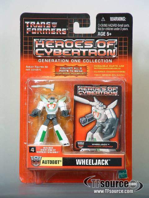 Heroes of Cybertron - Wheeljack