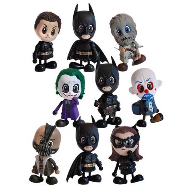 Cosbaby S Series 2 - The Dark Knight Rises - Full Set of 9 Vinyl Figures