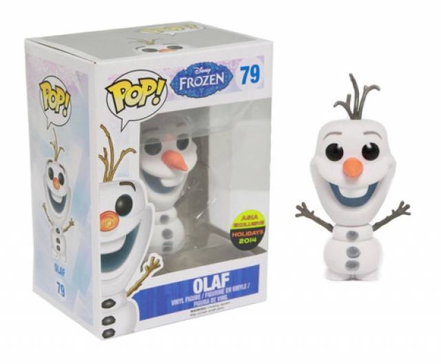 Funko POP!  Disney Frozen - Flocked Olaf - NYCC 2014 Exclusive