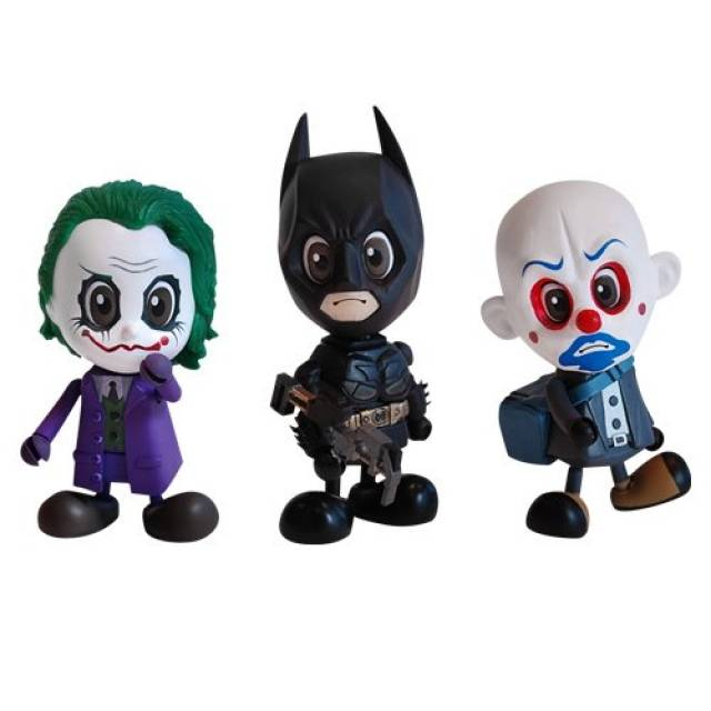 Cosbaby S Series 2 - The Dark Knight - Set of 3  Vinyl Figures