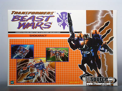 Botcon 2000 - Shokaract - Convention Exclusive