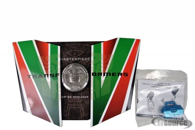Coin & Anti-Hypnosis Device for MP-20 Masterpiece Wheeljack