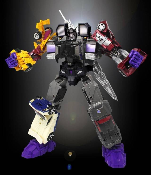 PC-04 Perfect Combiner Upgrade Set - Menasor Set