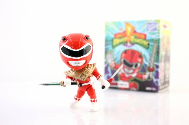 Loyal Subjects - Mighty Morphin Power Rangers - Wave 1 - Armored Red Ranger - Chase Figure