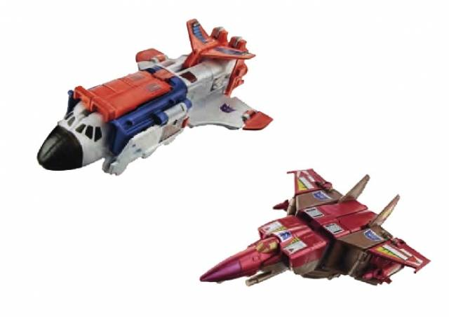 Platinum Edition - Blitzwing & Astrotrain - Set of 2 - Loose 100% Complete