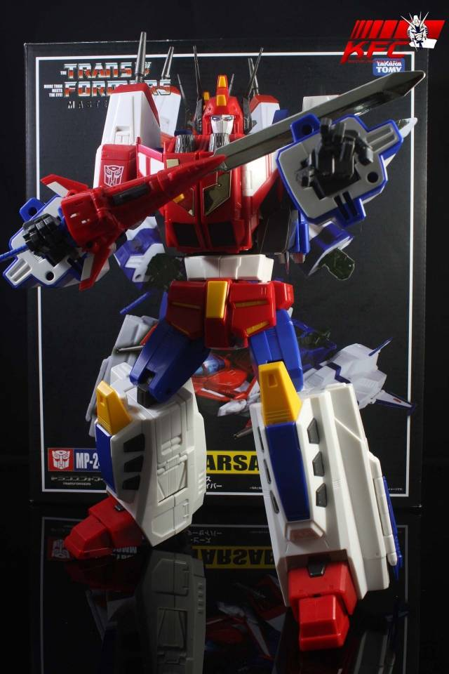KFC - KP-09 Posable Hands for MP-24 Star Saber - Dark Grey Version