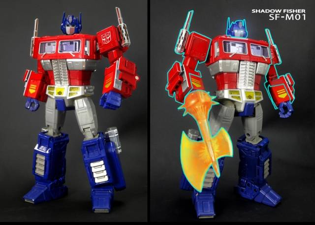 Shadow Fisher - SF-M01B - Arms, Axe & Chimney Upgrade for MP-10 - Japanese Version