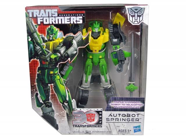Transformers Generations 2013 Voyager Class -Springer - MISB