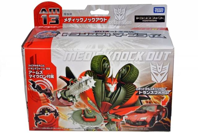 Japanese Transformers Prime - AM-13 - Decepticon Knockout - MISB