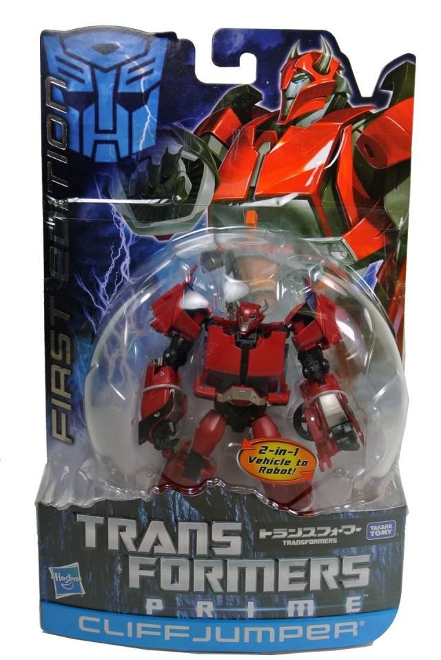 Japanese Transformers Prime - Cliffjumper - MOSC