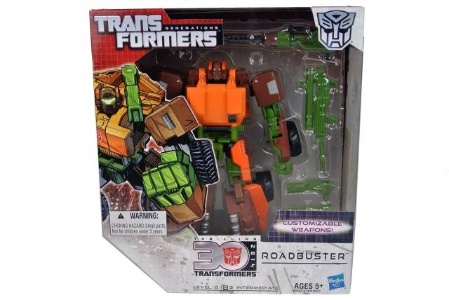 Transformers 2014 - Generations - Roadbuster - MISB