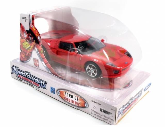 Alternators - Hot Rodimus - Ford GT - MIB