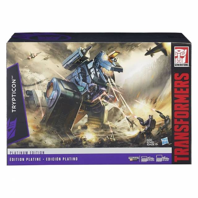 Platinum Edition - Trypticon - MIB