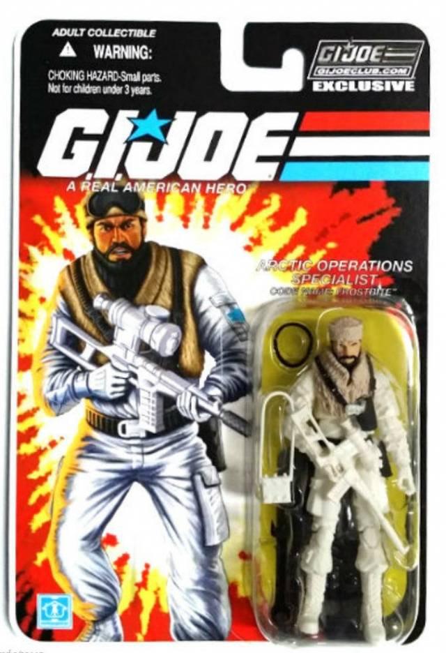 GI JOE 2015 - Subscription 3.0 Figure - Frostbite