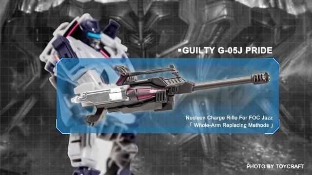 Guilty G-05J Pride - Generations Jazz Upgrade Kit - Japanese Version